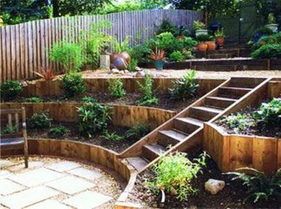 That is How to Make Garden Steps on a Slope 39